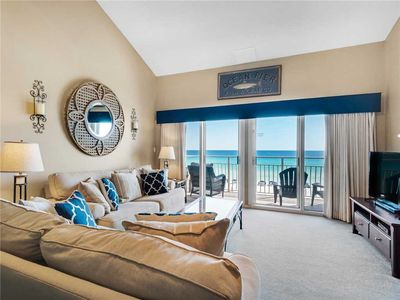 Photo for Beach Front Condo-Perfect Gulf Views and Private Balcony! Sleeps 8-Has Pool!