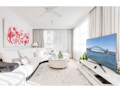 Photo for Cosy harbourfront apartment with impressive views