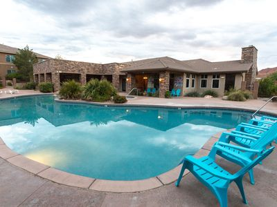 Photo for Angels Landing Suite Sleeps 34 includes 3 kitchens, BBQ's, Jacuzzi and fitness center