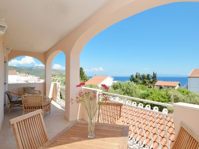 Photo for ROCCO 1 - Sea view apartment with 2 bedrooms & 2 bathrooms, 150m from the beach