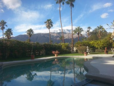 Photo for Private, Peaceful, Roomy, View, Palm Springs Getaway