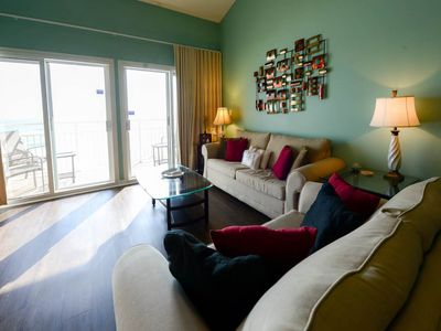 Photo for Gulf Front 2 Bedroom plus loft @ Crystal Sands unit 310B includes beach service!