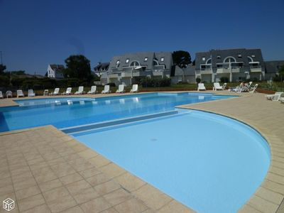 Photo for Appart T3, 6 people DRC in residence with swimming pool in CARNAC BEACH and WIFI