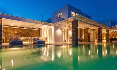 Photo for Luxury Retreat Villa in Mykonos 2 Pools  Sleeps 26  13 Beds  13 Baths 2 Jaccuzi  2 Gym