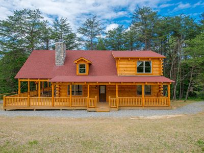 Photo for Newer 4 bedroom lodge with private acreage and close proximity to Cantwell Cliffs