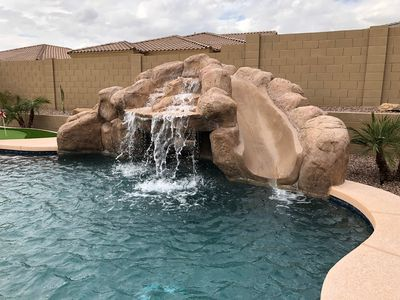 Photo for Gated Golf Course community with beautiful backyard oasis!