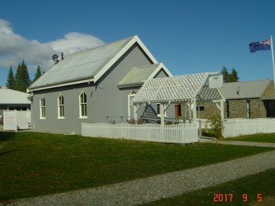 Photo for Revamped church in an old gold mining village