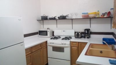 Self Sufficient Apartments with maid service daily except Sundays - Sandy  Ground