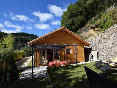 Photo for Beautiful chalet with all conveniences 300 m from river
