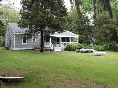 Photo for Private and quaint cottage with large yard for your family and pets