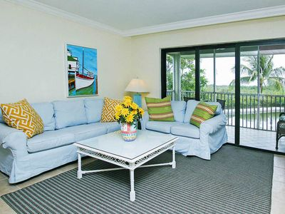 Photo for Bay Front - Top Floor - 2 Story - Sleeps 8 at South Seas Island Resort, Captiva