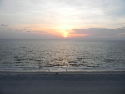 Photo for 'Blue Pearl' Beach Front condo Clearwater - Sand Key