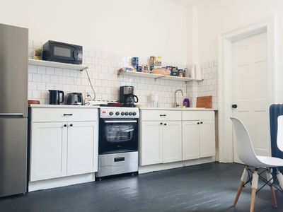 Photo for Cute 3 bedroom apartment - 3 stops to Times Square