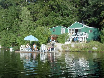 Photo for Lakefront Cottage in a Quiet, Beautiful Location