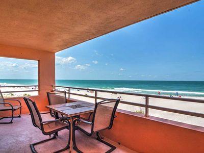 Photo for Coquina Beach Club 103 - Condo 2 Bedroom/ 2 Bath ocean view, maximum occupancy of 6 people.