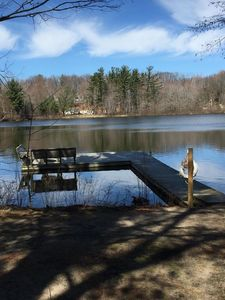 Photo for Log Cabin Luxury on Beautiful Goshorn Lake & Minutes from Downtown Saugatuck