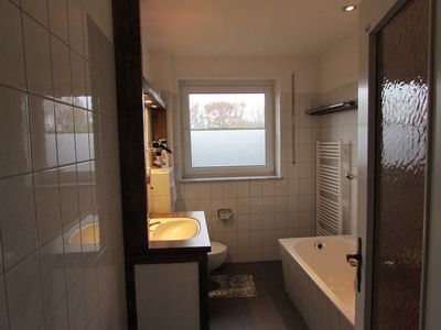 Photo for Apartment Ground floor (cottage with 2 apartments) - Apartments with boat + Radlerzimmer (21143)