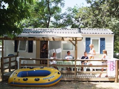 Photo for Camping Parc Bellevue *** - Mobile home Phoenix 3 Rooms 4/5 People
