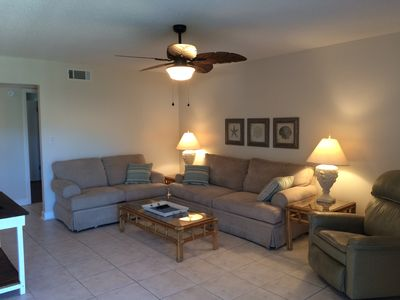 Photo for Newly Updated!  Villas on the Gulf.  Pool view and Only 3 Min Walk To The Beach