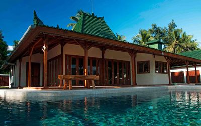 Photo for Nautilus Villa is a single floor Private villa traditional Javanese Joglo style