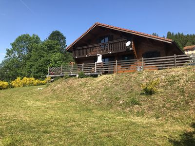 Photo for Chalet 12 pers with sauna and land
