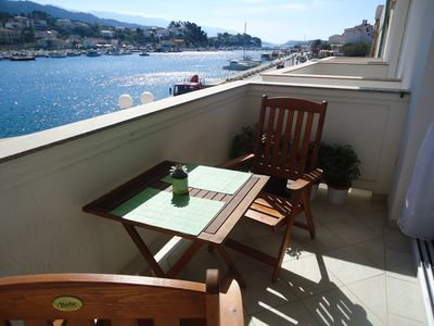 Photo for Nice apt with sea view and balcony