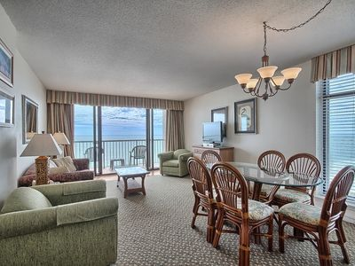 Photo for Oceanfront 3 Bedroom Condo w/ Amazing View + Official On-Site Rental Privileges
