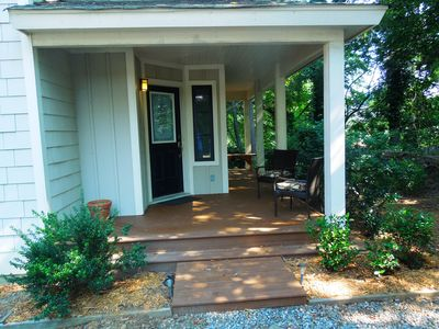 Photo for Contemporary Townhome on Secluded, Wooded Lot in Central Asheville