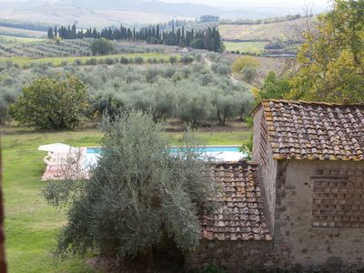 Photo for Lovely Farmhouse among the Chianti Tuscany hills