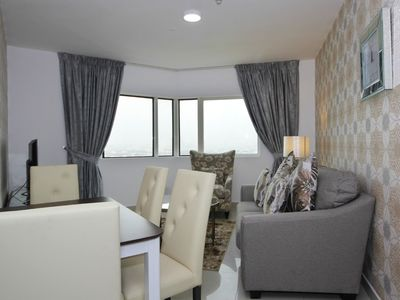 Photo for Exhilarating 1BR Apartment in Dubai Gate 1, Jumeirah Lake Towers