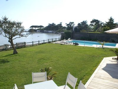 Photo for Villa facing the sea, near Ile de Re and La Rochelle
