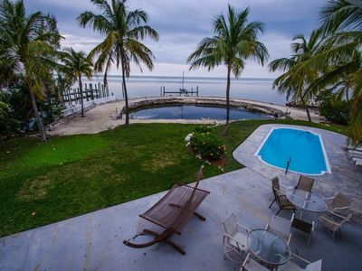 Tropical Oceanfront 3 Acre Estate with Pool and Tennis Court