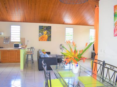 Photo for top villa 3 rooms 75 m² quiet, well equipped, overlooking the Bay Robert