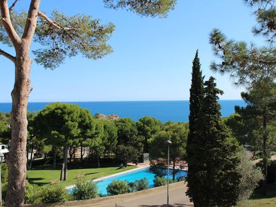 Photo for Tamariu, Costa Brava: 8 person villa with sea views