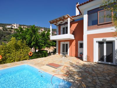 Photo for Beautifull villa Lerna with private pool