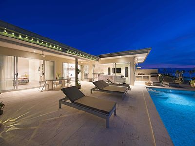 Photo for Stunning 3 Bedroom Private Pool Villa, Ocean View, for 8 people
