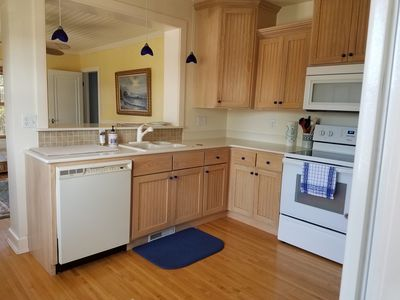 This kitchen is fully equipped for those who love to cook that special meal.