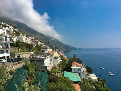 Photo for Apartment near Praia with large terrace and spectacular views.