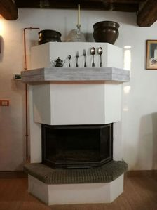 Camino\fire place