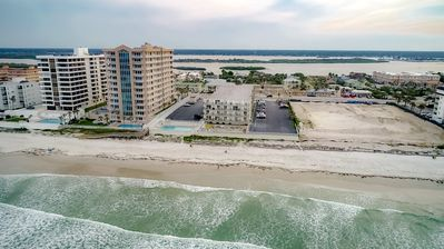 Photo for BEAUTIFUL OCEAN VIEWS FROM BALCONY! Just steps to BEACH!