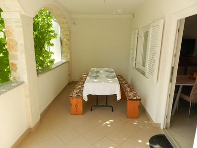 Photo for Two bedroom apartment with terrace Sveti Vid (Krk)