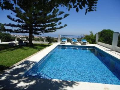 Photo for Nerja: Nice country house with big garden, private pool and amazing views