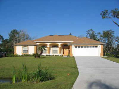 Photo for Enjoy the seclusion and luxury in our executive Florida home!!