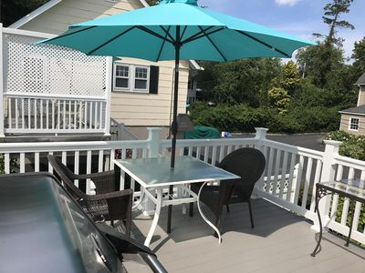 Photo for Only 4 Blocks from the Ocean- Modern & Clean. Enjoy Grilling on the Deck.