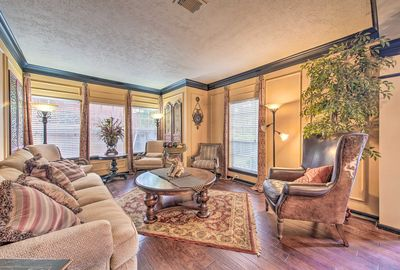 The well-appointed home is located in the quiet Kingswood area.