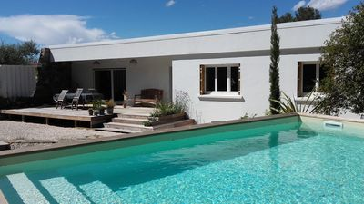 Photo for Beautiful villa with pool and beaches on foot