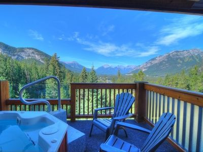 Photo for Bright + Modern Banff Getaway in a Great Location | Private Hot Tub!