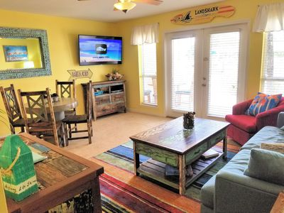 Photo for Seas The Day!!!  Pool /Jacuzzi Right At Your Back Door! 2 Beach Chair* set-up!