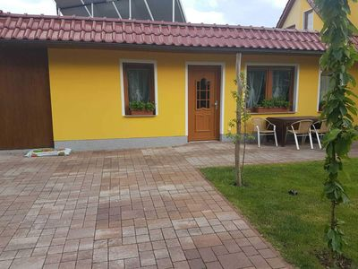 Photo for Bungalow on the Baltic Cycle Route Rerik - Bungalow with Terrace (50m², max 4 persons)