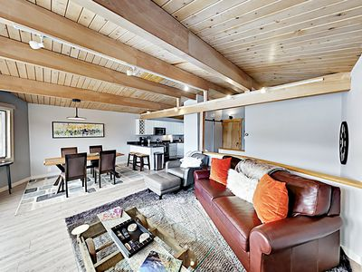 Photo for Modern Ski-In/Ski-Out Condo w/ All-Season Pool, Smart TVs & Brand-New Beds